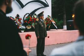 "Акция ""Свеча памяти"", 22 июня 2015, Шуя"