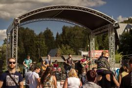 Первый гитарный фестиваль 2015 Плёс, группа Берега