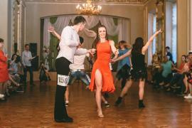 Парные танцы. Шуя. Турнир по ХАСТЛУ