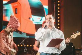 Концерт, посвященный запуску ласточки. Железнодорожный вокзал Иваново