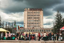 День города Родники, 100 лет. Большевик, ярмарка