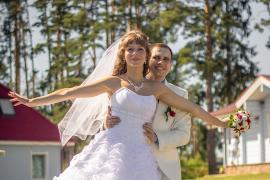 Съёмка свадьбы, Демино, Ярославская обл., Рыбинский район