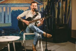 Илья Оленев, квартирник на Теза ТВ, Шуя
